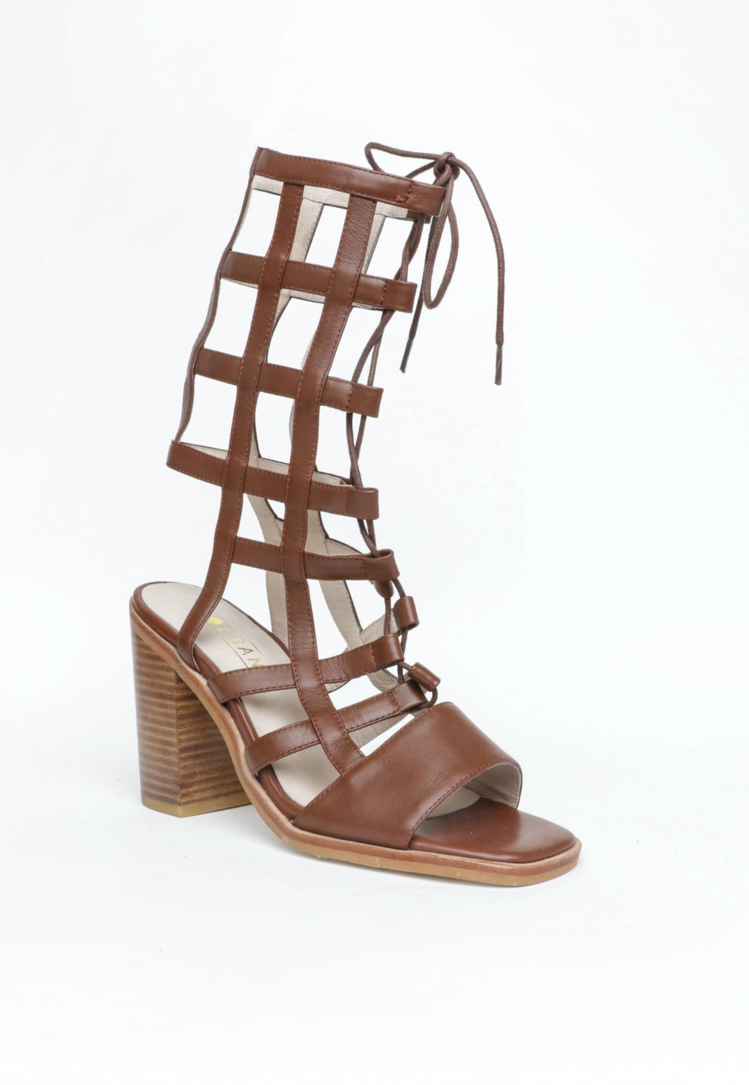 Sol Sana - Grid Heels - Brown