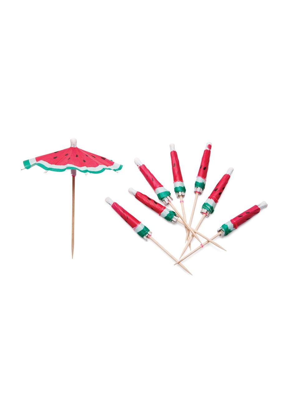Sunnylife - Watermelon Umbrellas Set of 24