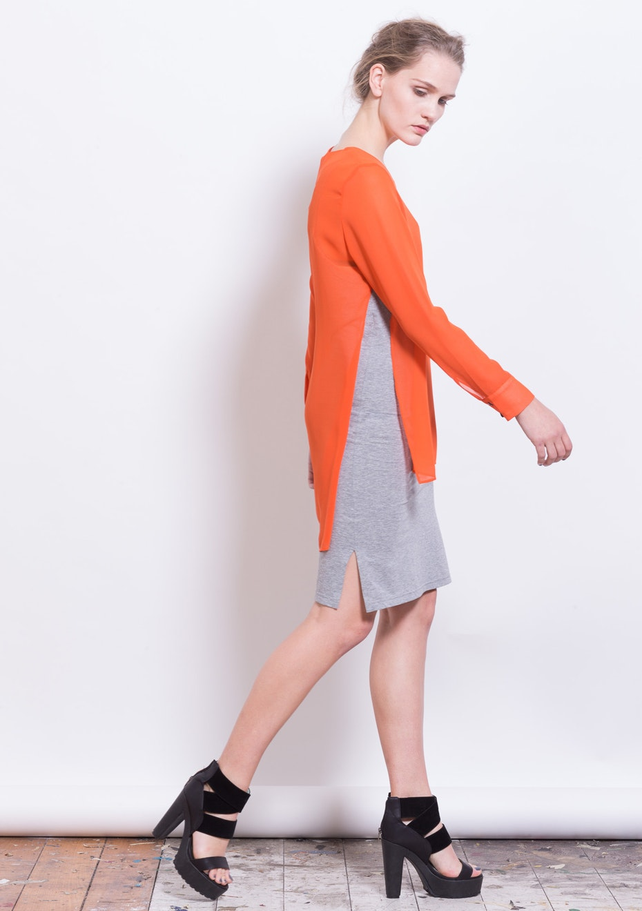 X-Plain - Sensibility Top - Persimmon
