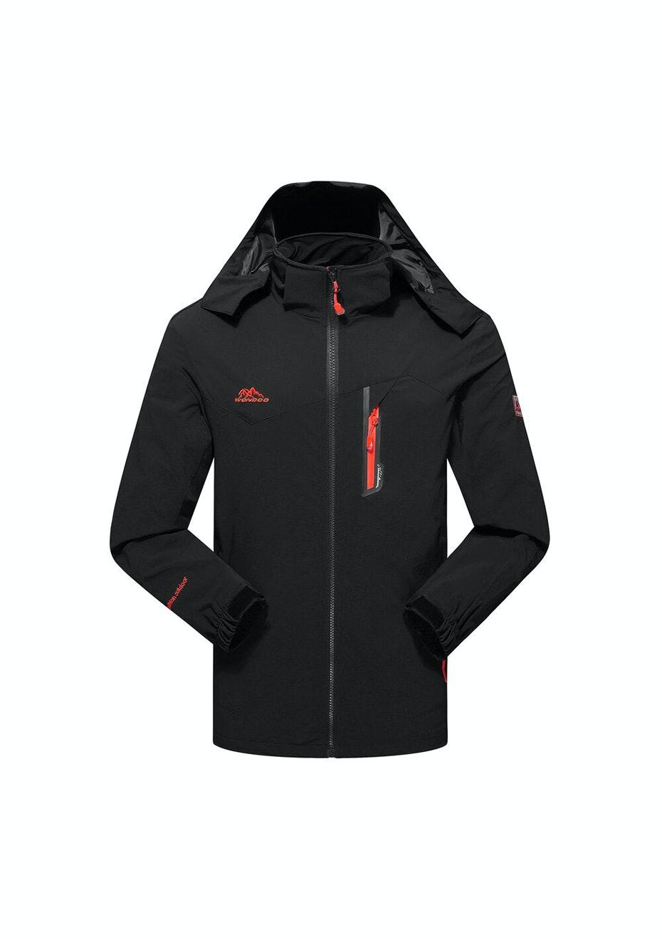 Women 2-in-1 WaterProof Jackets - Black