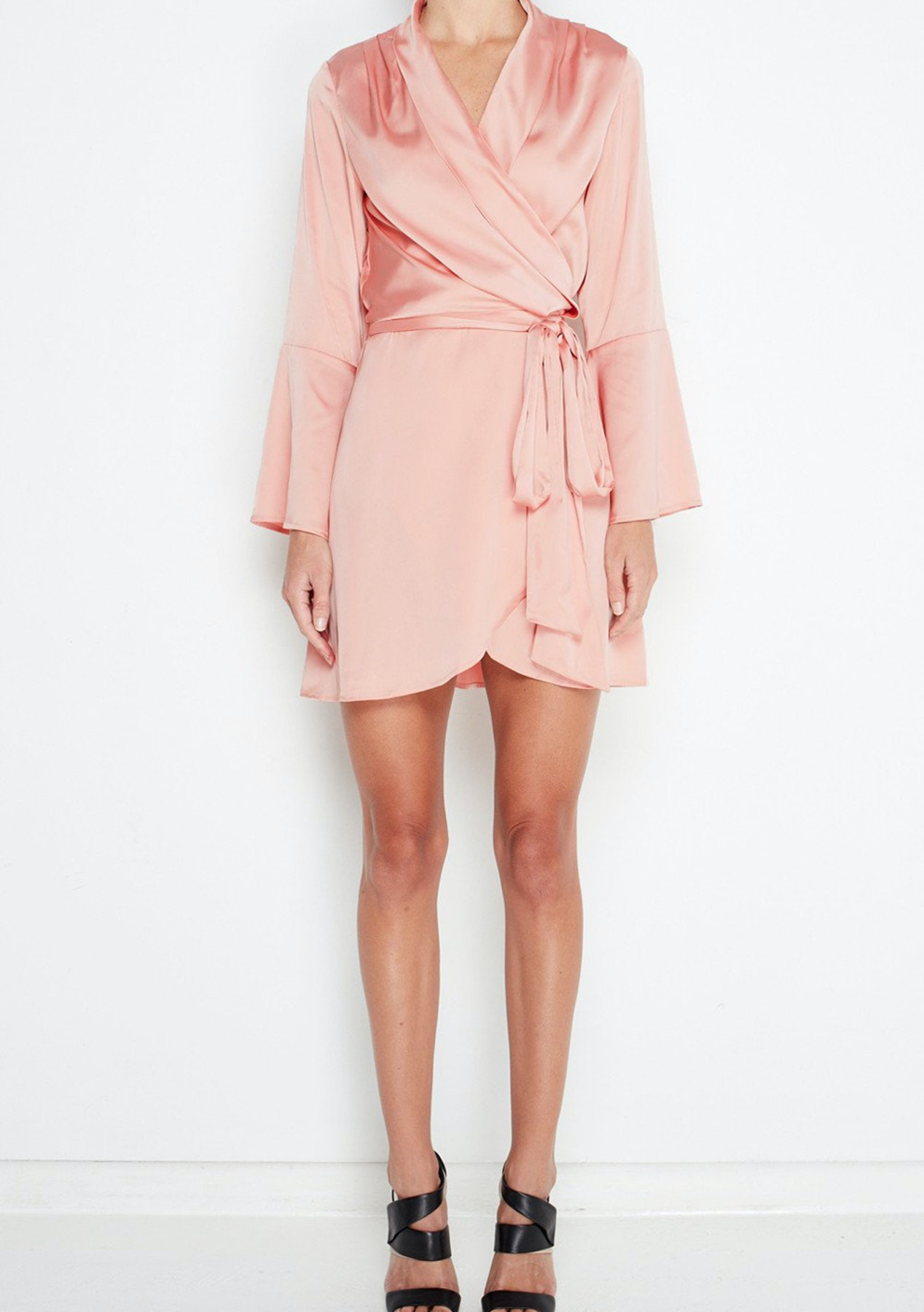 08ef1bf040d92 MLM Label - Fjord Wrap Dress - Bellini