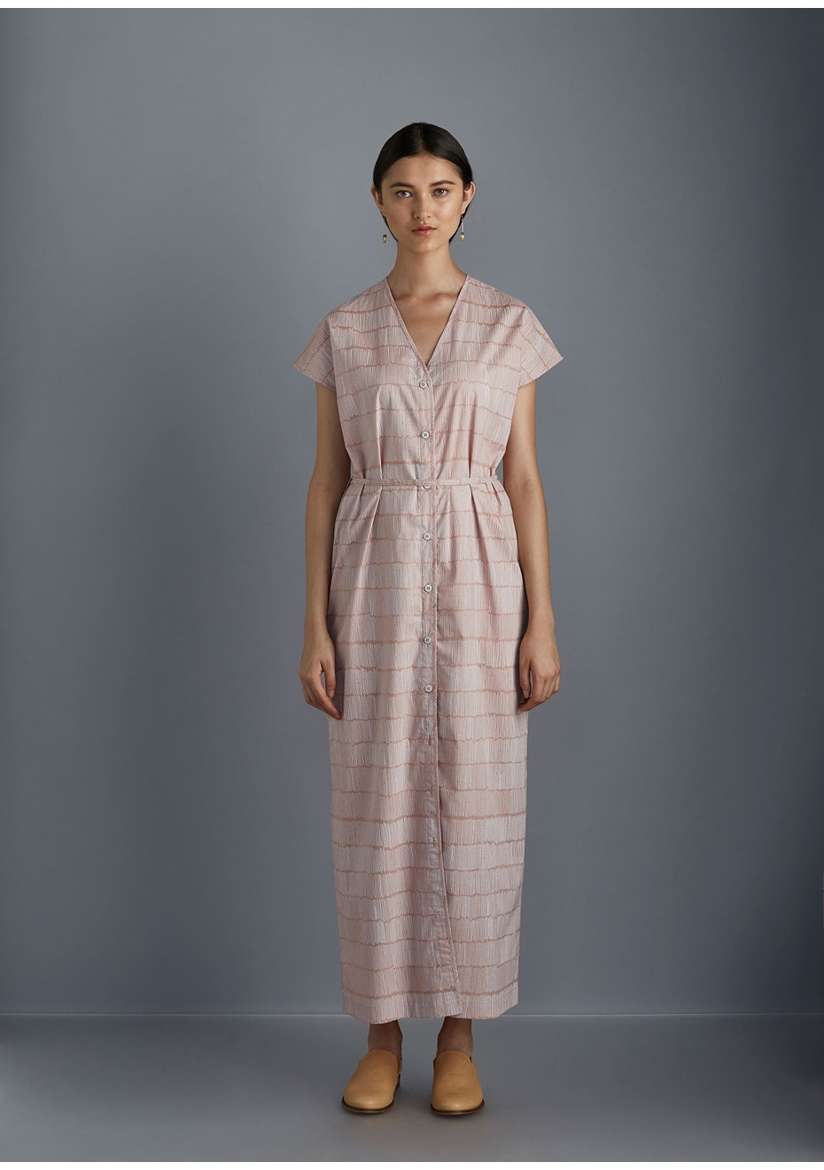 Kowtow - Bloom Dress - Dashes on Rose