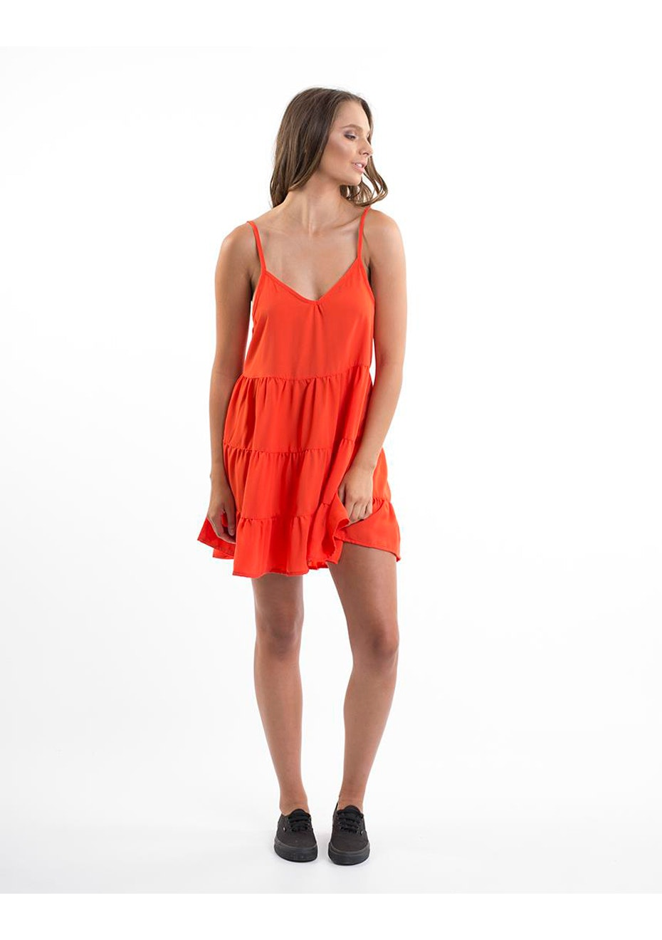 All About Eve - ALLURE DRESS - ORANGE