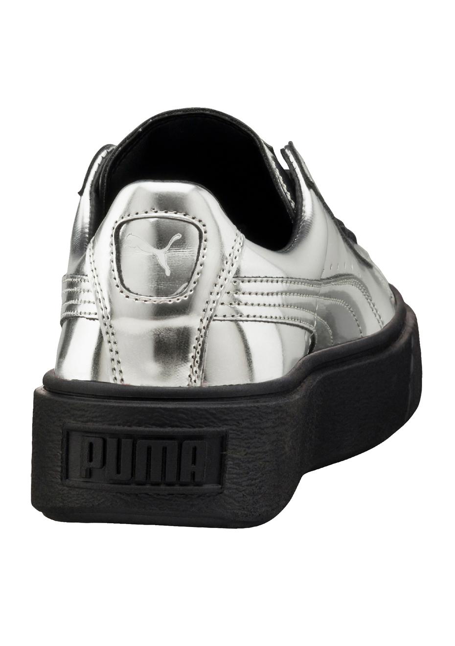 puma basket creepers metallic w schuhe