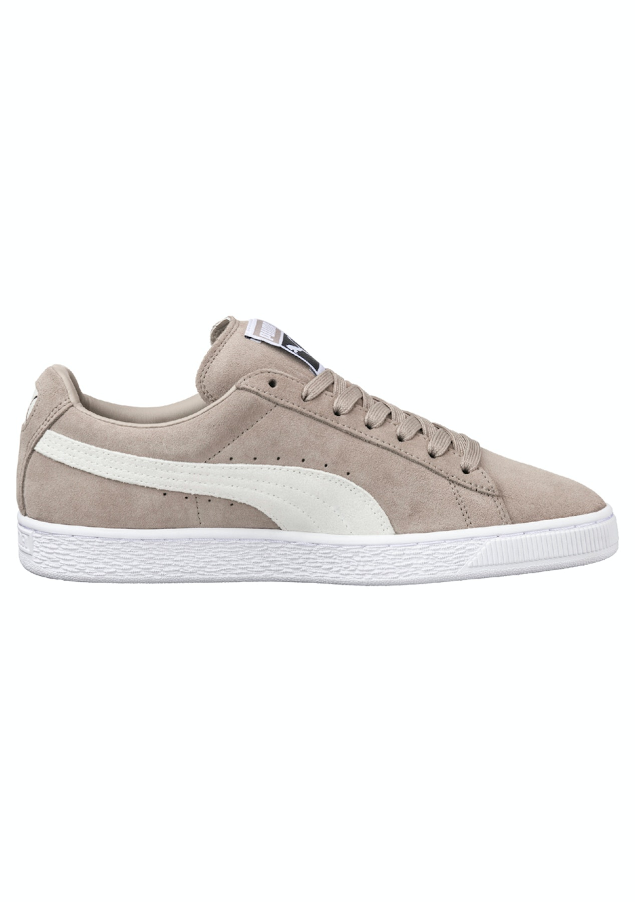 d7db8a2353f Puma Womens - Suede Classic + - Vintage Khaki - Womens Activewear Outlet -  Onceit