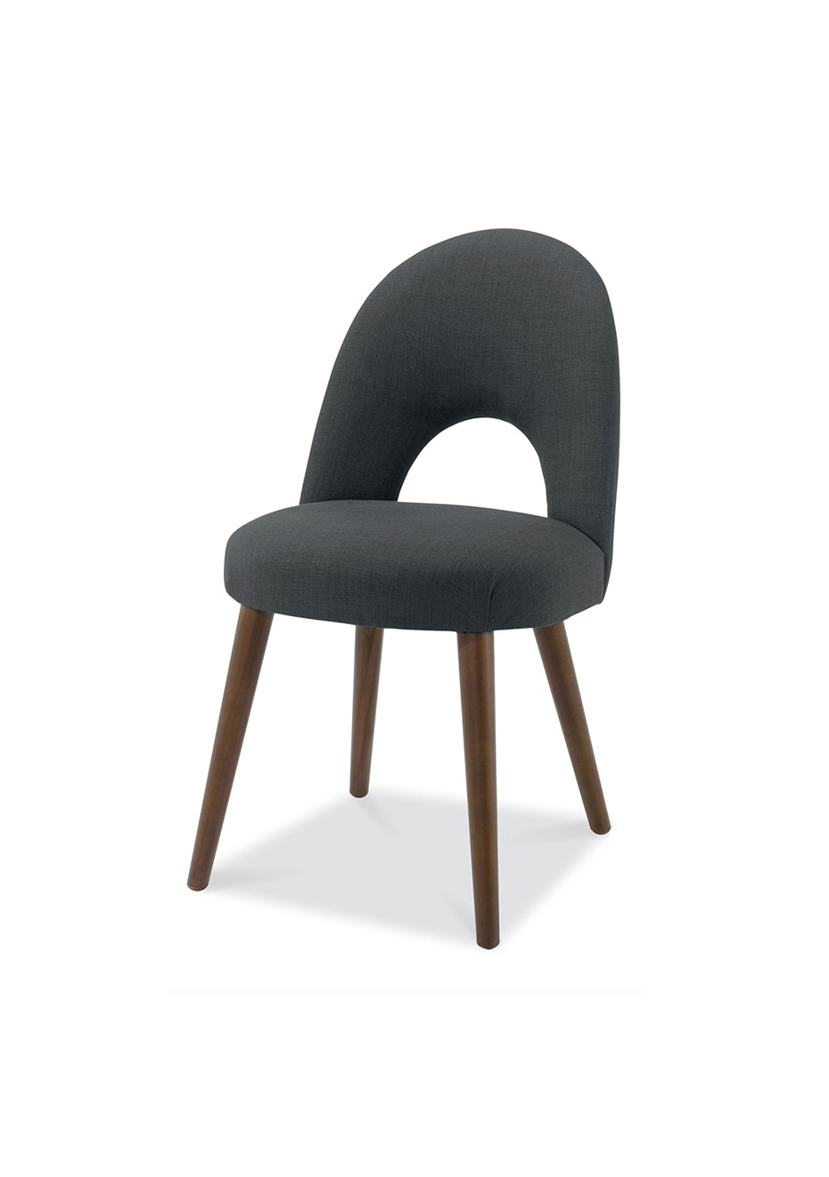 Furniture By Design - Oslo Chair- Walnut and Charcoal