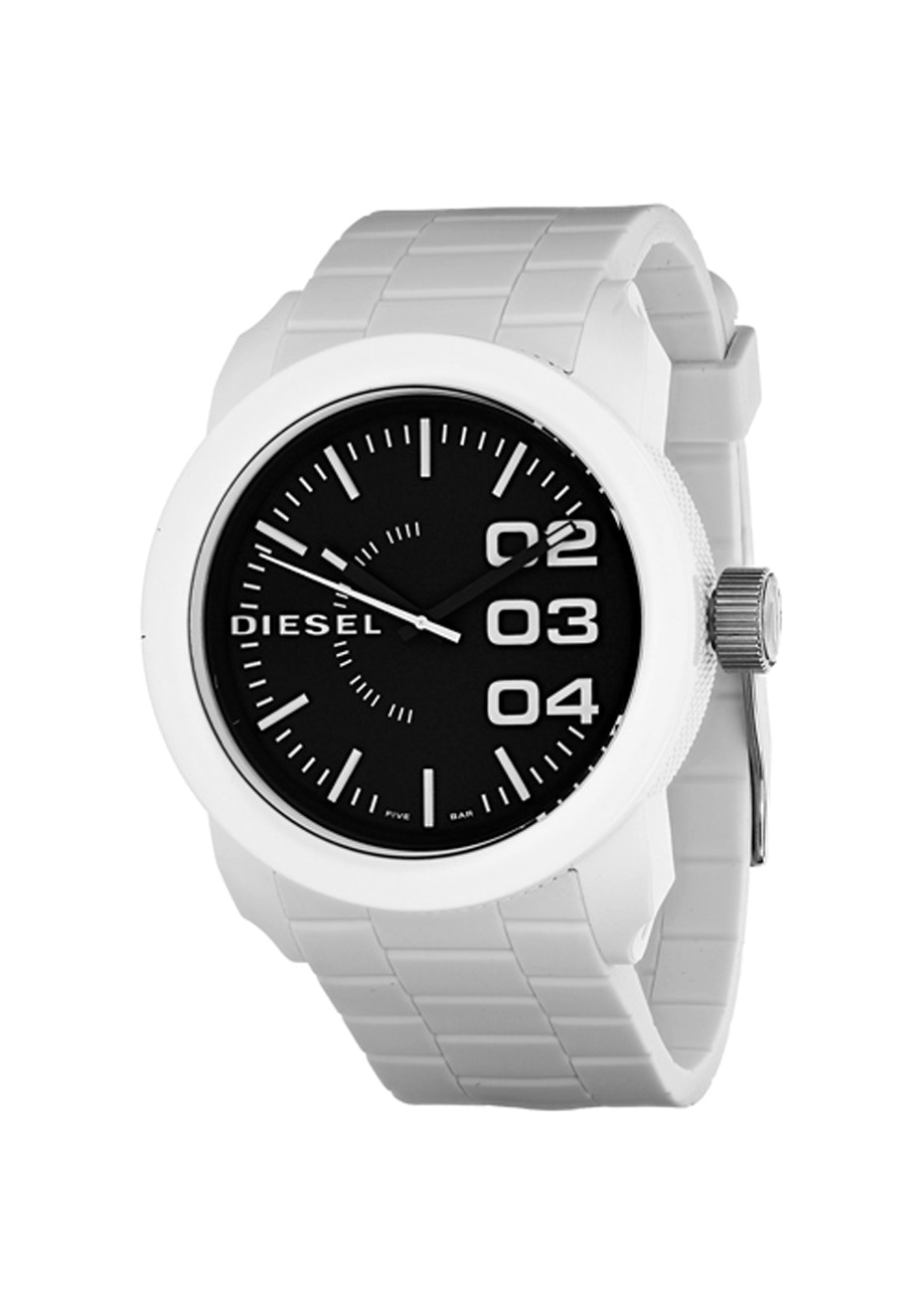 Diesel Men's Double Down - Black/White