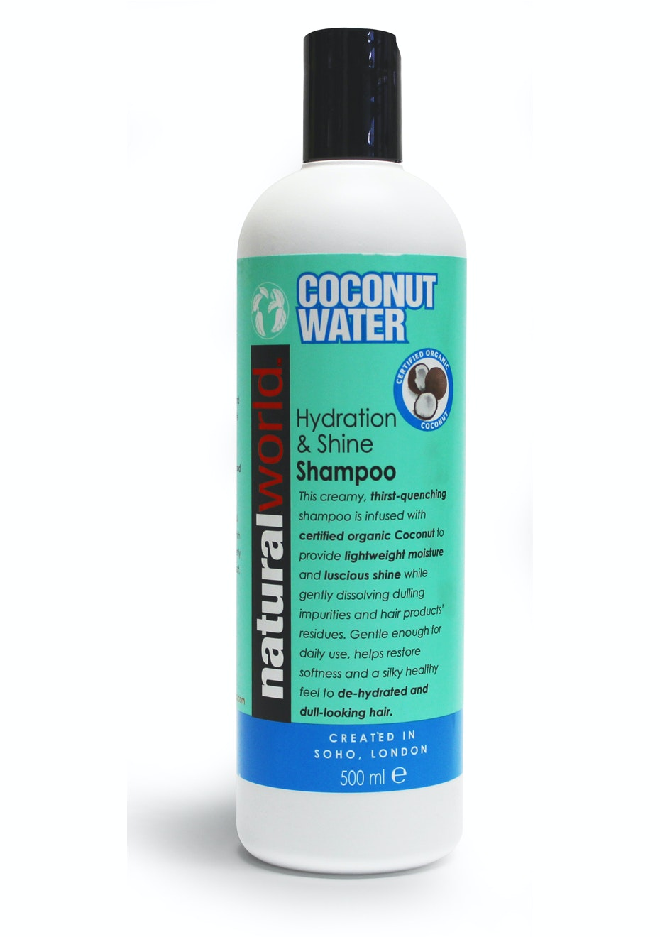 Natural World Coconut Water Shampoo 500ml