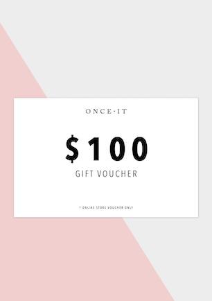 Onceit $100 Voucher