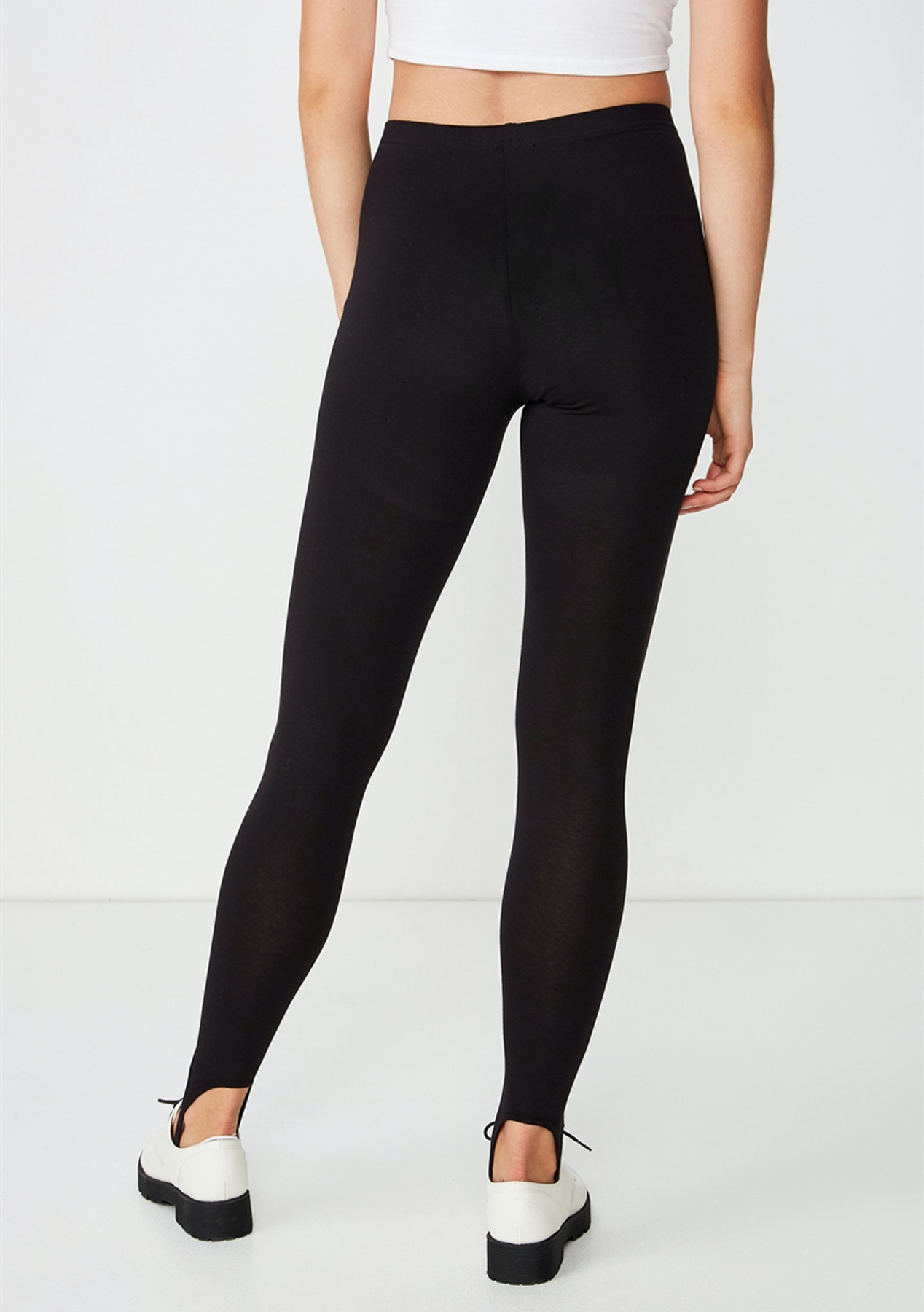 Cotton On Dylan Long Leggings Black Stirrup New Cotton On Cotton On Body Rubi Onceit