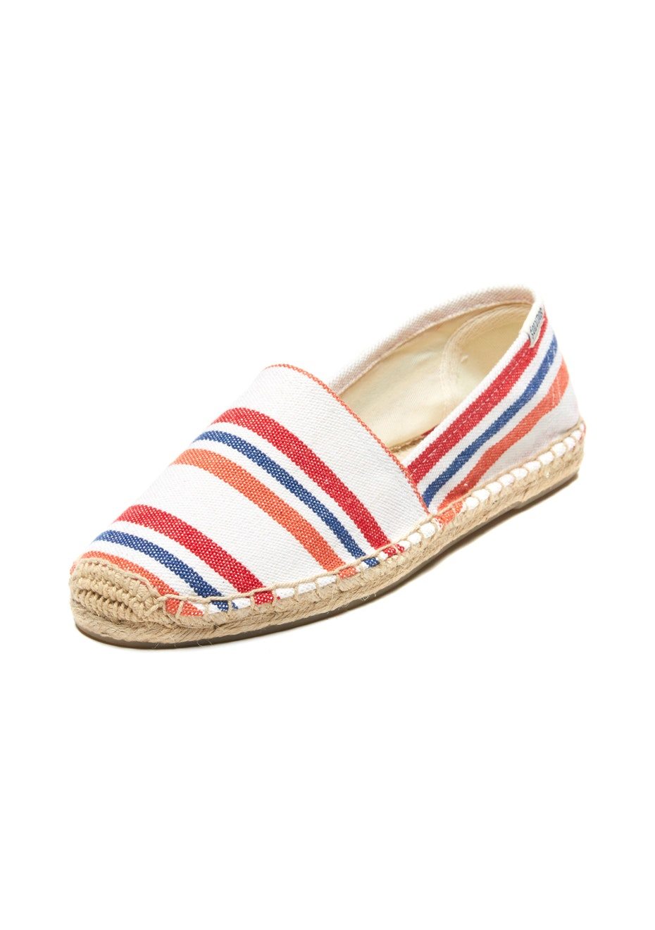 Soludos - Original Dali Striped - Red/Orange