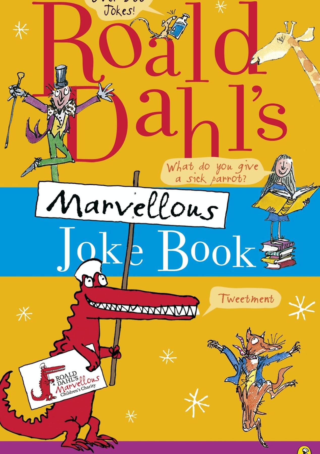 Roald Dahl\'S Marvellous Joke Book - The Big Kids Christmas Gift Sale ...