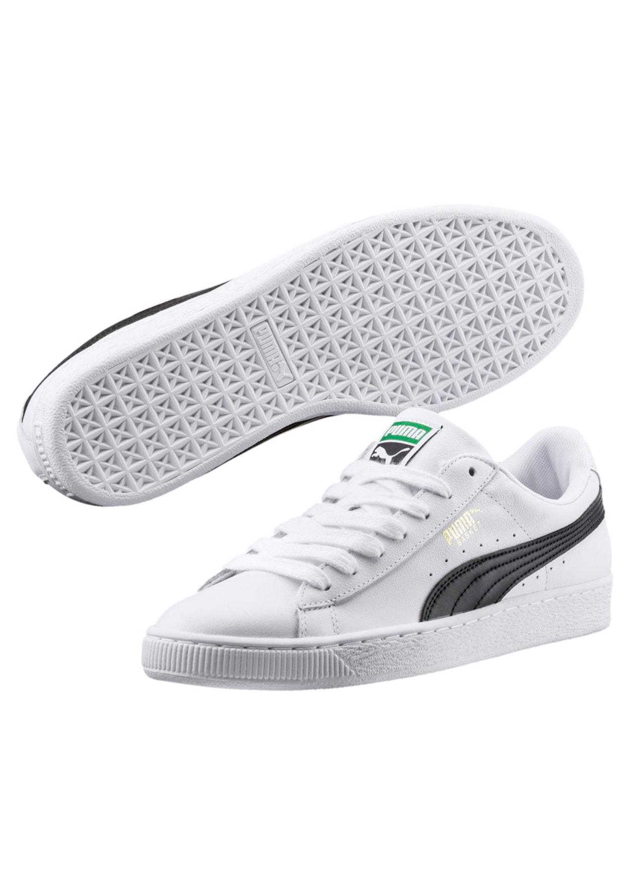 1067b3b3c740 Puma Mens - Basket Classic Lfs - White Black - Free Shipping Activewear  Reductions - Onceit