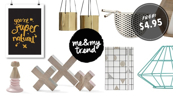 Me & My Trend Homeware From $4.95