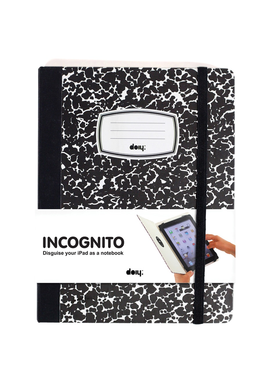 DOIY - Incognito Ipad Case - Composition