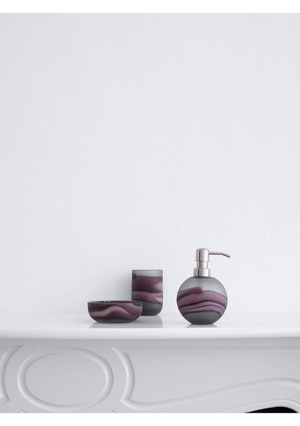 Aquanova - Tibor Aubergine Tumbler - Luxury Bathroom Refresh from ...