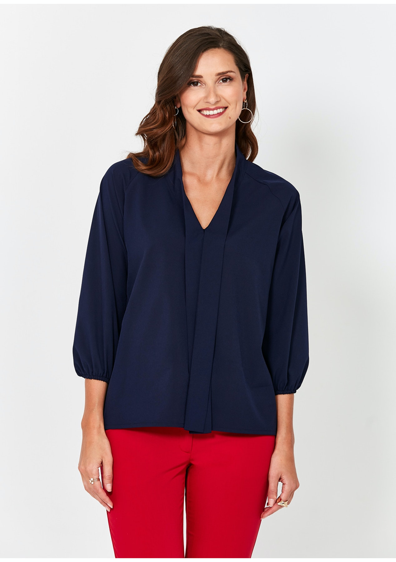 79e2a1e6f1dbec Zocha - Blouse - Navyblue - Day to Night Looks Up to 70% Off - Onceit