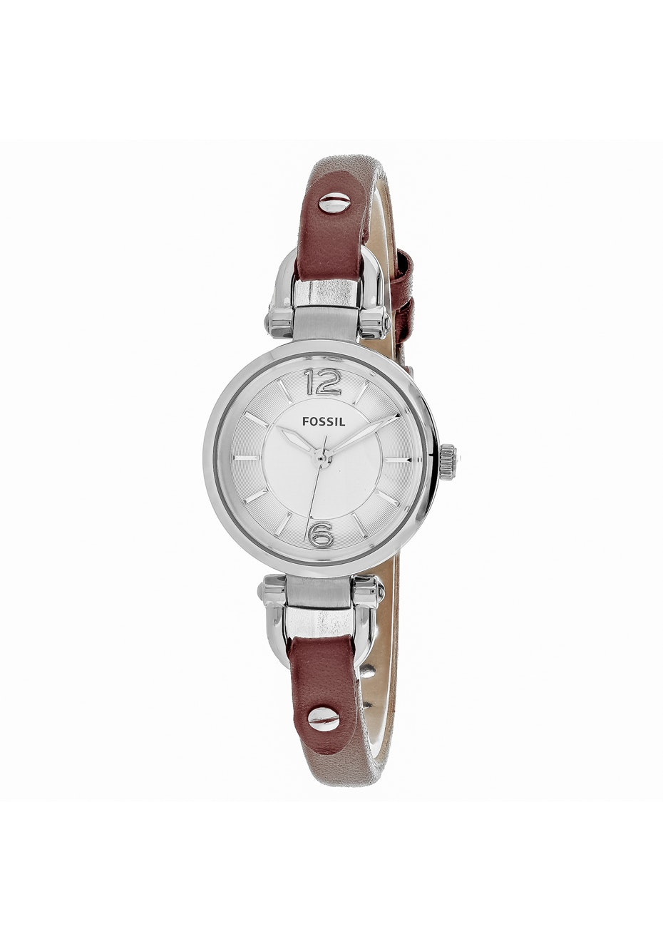 Fossil Women's Georgia - Silver/Brown