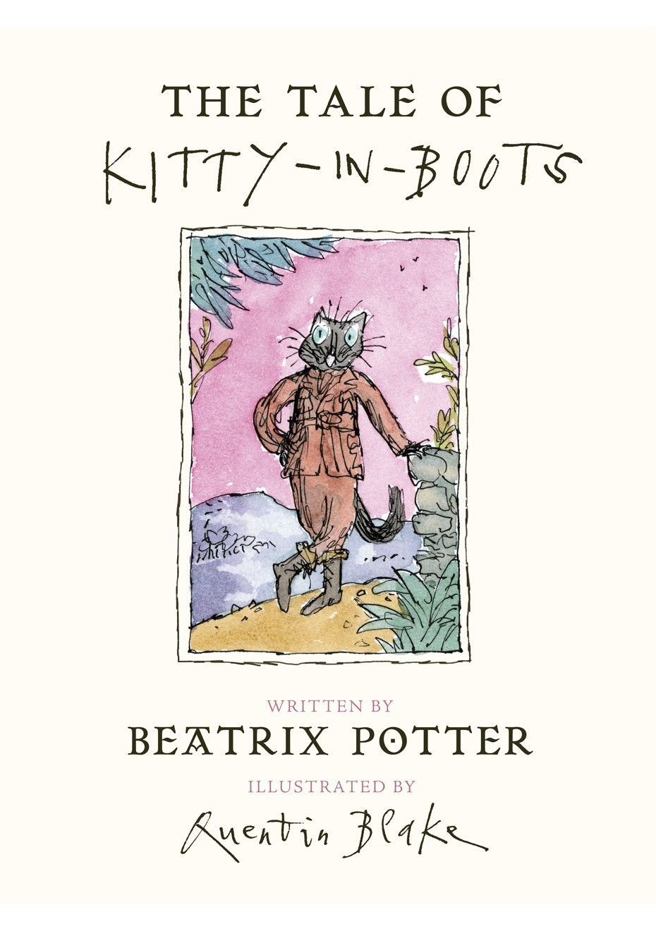 The Tale of Kitty In Boots, by By Beatrix Potter