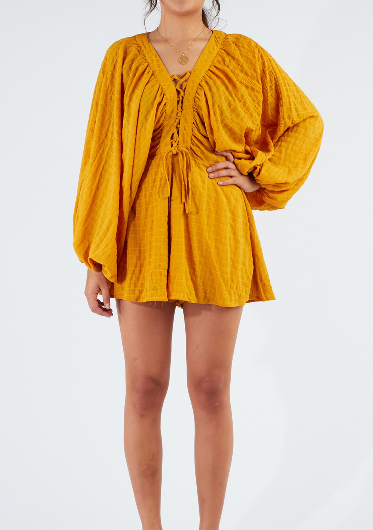 4d3f904492a Krista Playsuit - Mustard - Boxing Day Designer Clearance - Onceit