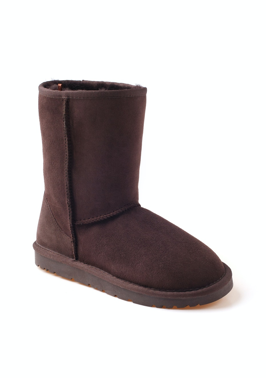 Ozwear - Classic UGG 3/4 Boots - Chocolate