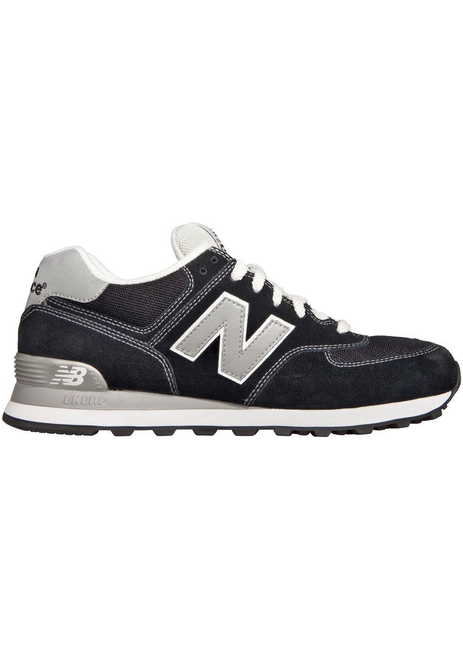 New Balance - Unisex - Core 574 - Black / Grey / White