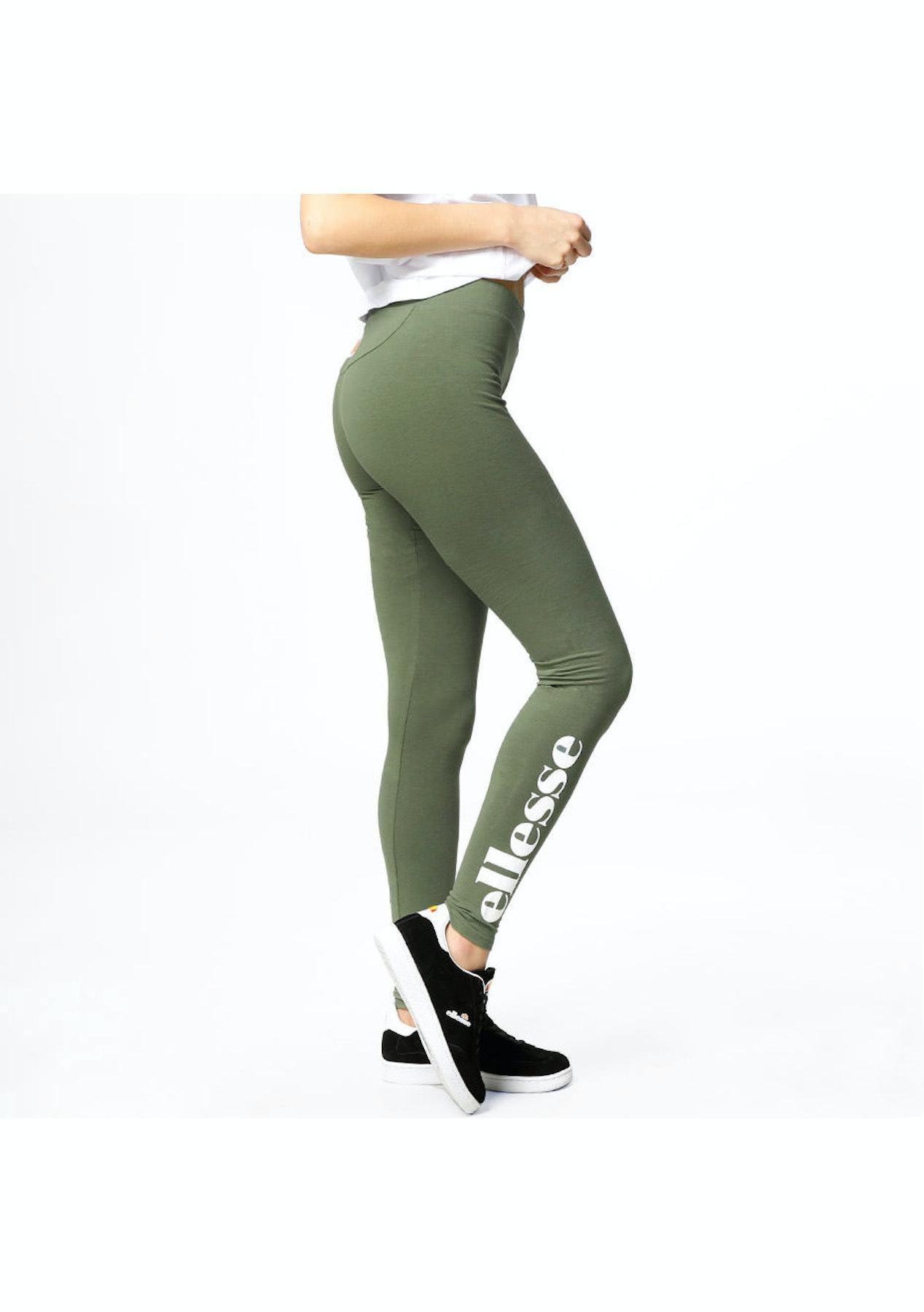 aaeeb0cf39c1b Ellesse - Womens - Solos Legging - Bronze Green - Womens Streetwear Sale -  Onceit