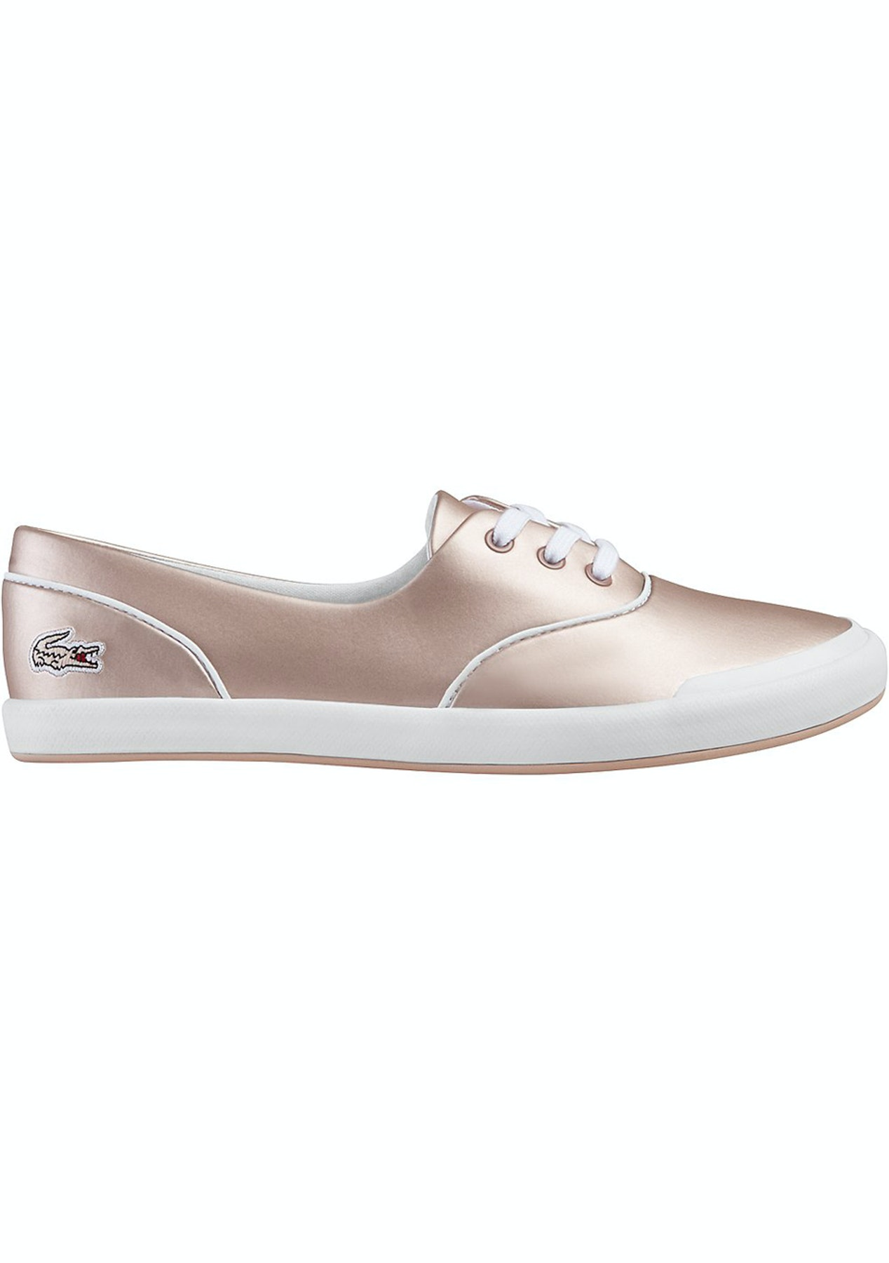 79fc7789f28e Lacoste - Womens Lancelle 3 Eye 117 1 Light Pink - Shoe Reductions - Onceit