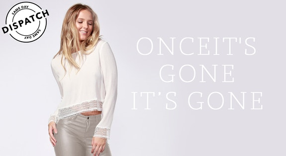 Onceit's Gone It's Gone