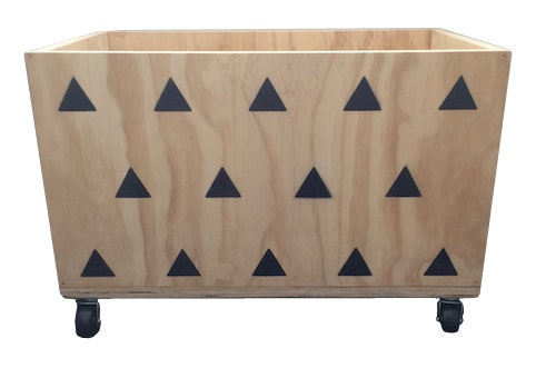 Handcrafted Toy Box - Geo