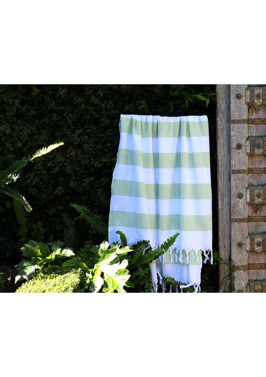 Cabana Lime Green Turkish Towel
