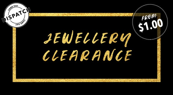 Jewellery Clearance from $1