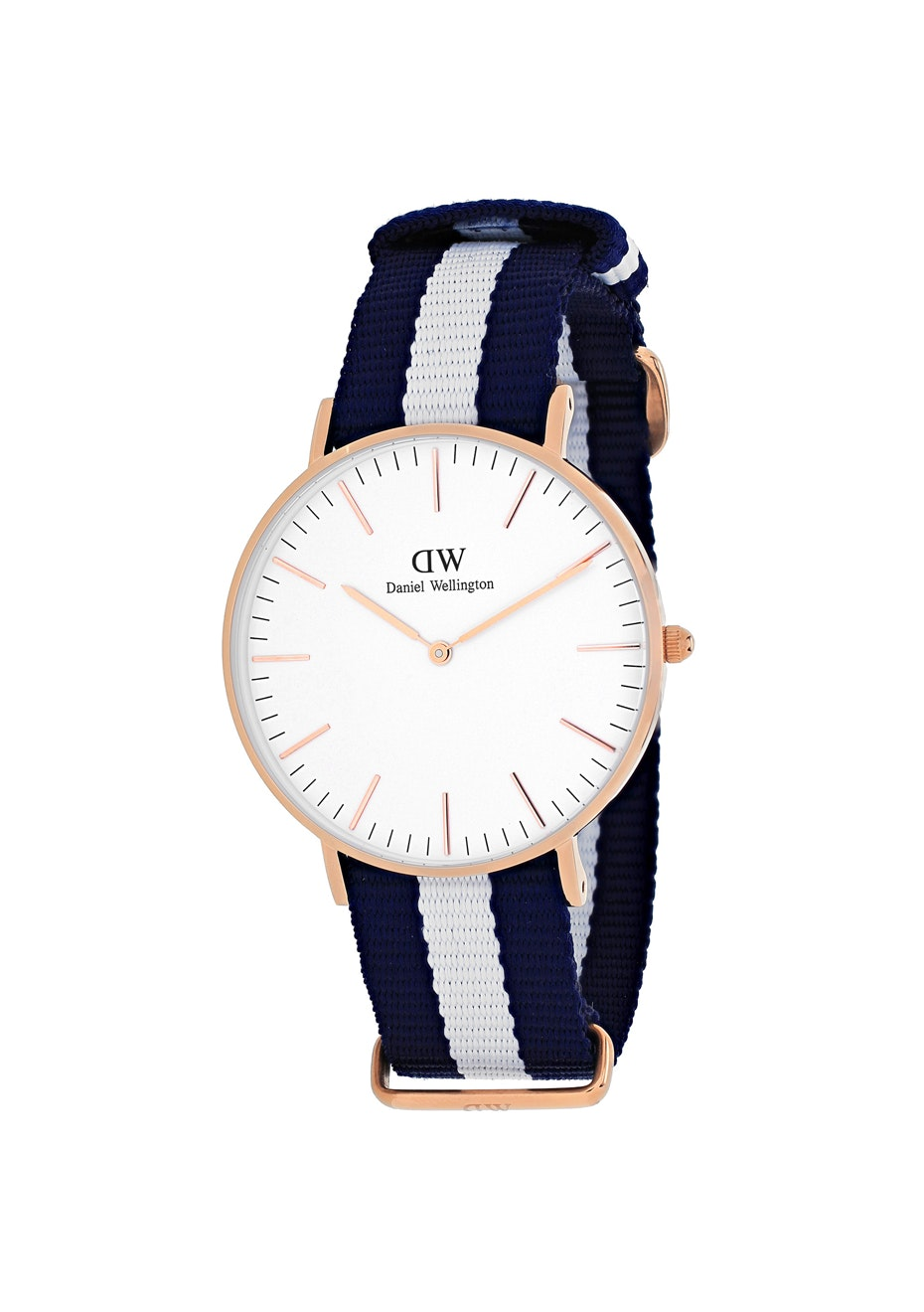 Daniel Wellington Women's Classic Glasgow - White/Two-tone Navy B