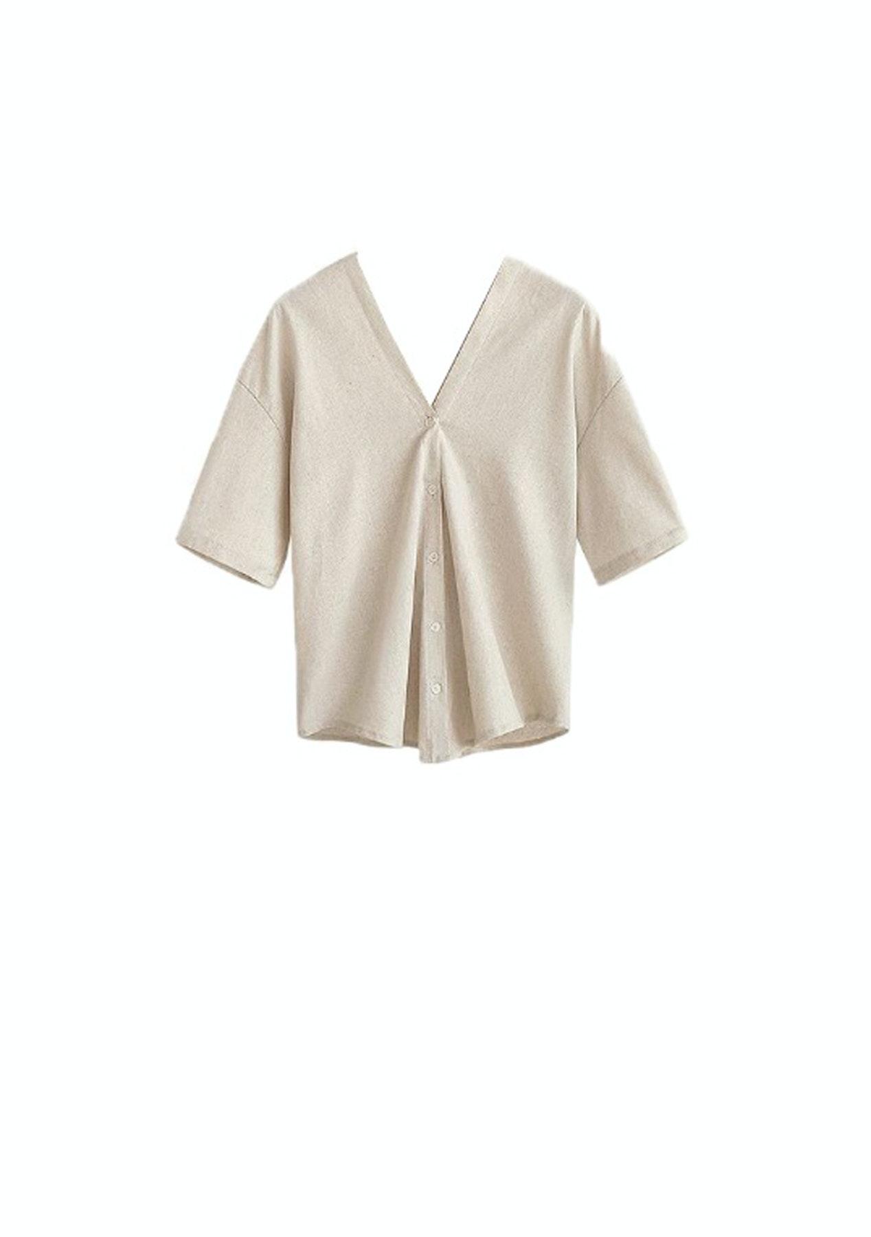 b85136ef4f2ede Fashion Edit. - Pavilion Shirt - Beige - PRESALE  Resort   More Under  45 -  Onceit