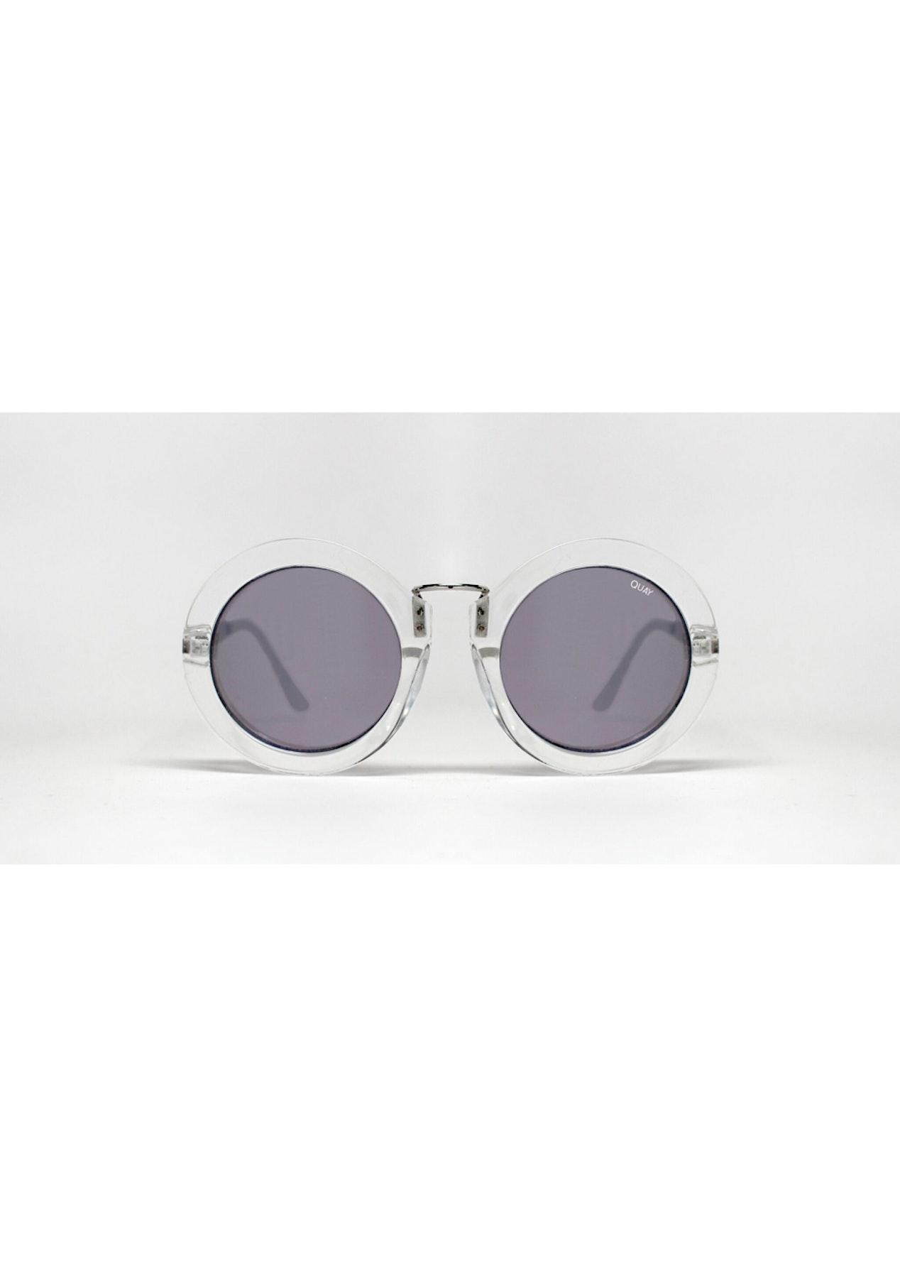 0100dfdef6 Quay - Life In Xanadu - Clear   Silver Mirror - Eyewear Clearance - Onceit