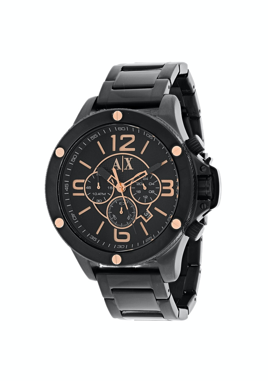 Armani Exchange Men's Chronograph - Black/Black