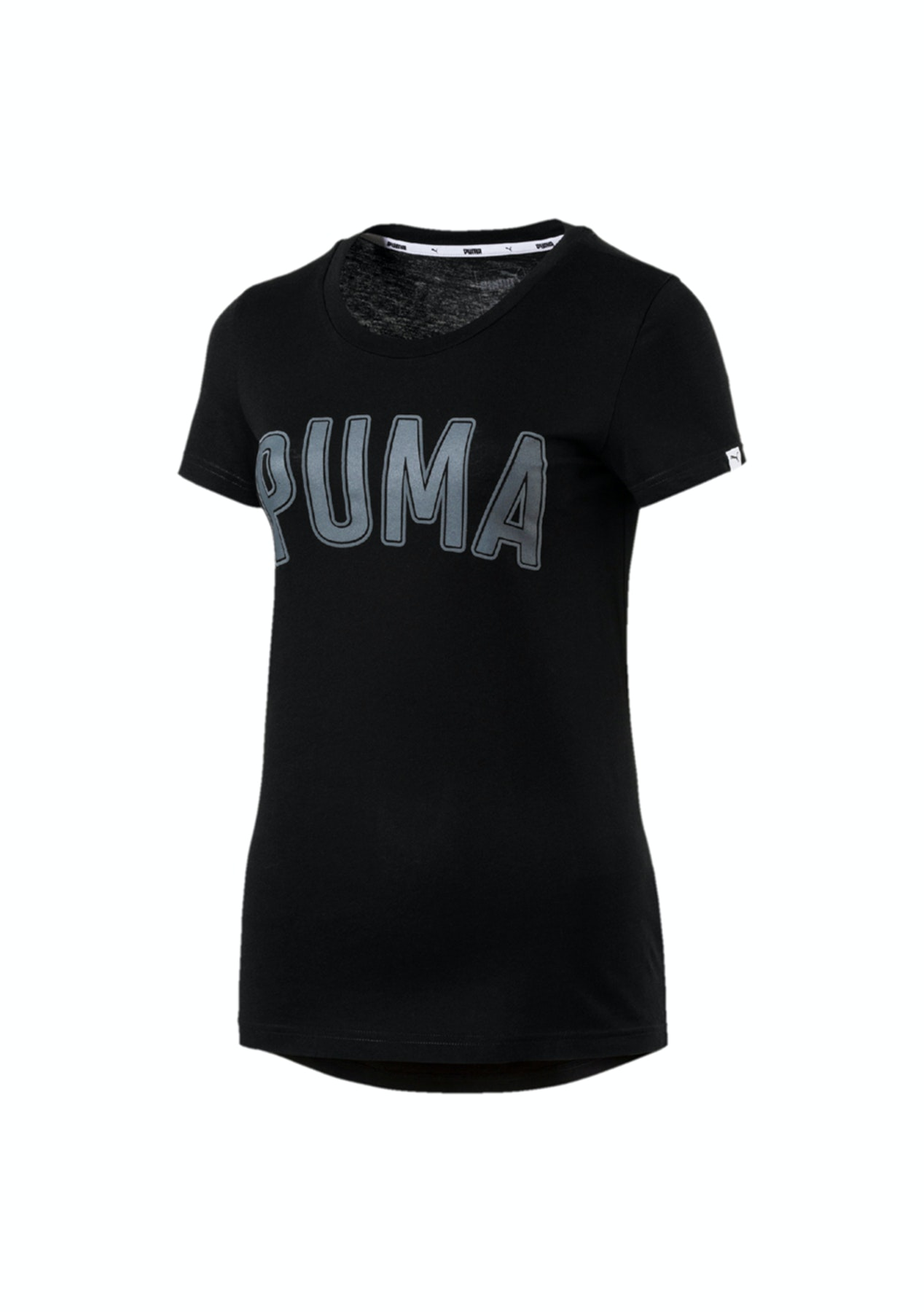 5c22c78d657 Puma - Womens Athletic Tee Black - Puma Flash Sale - Onceit