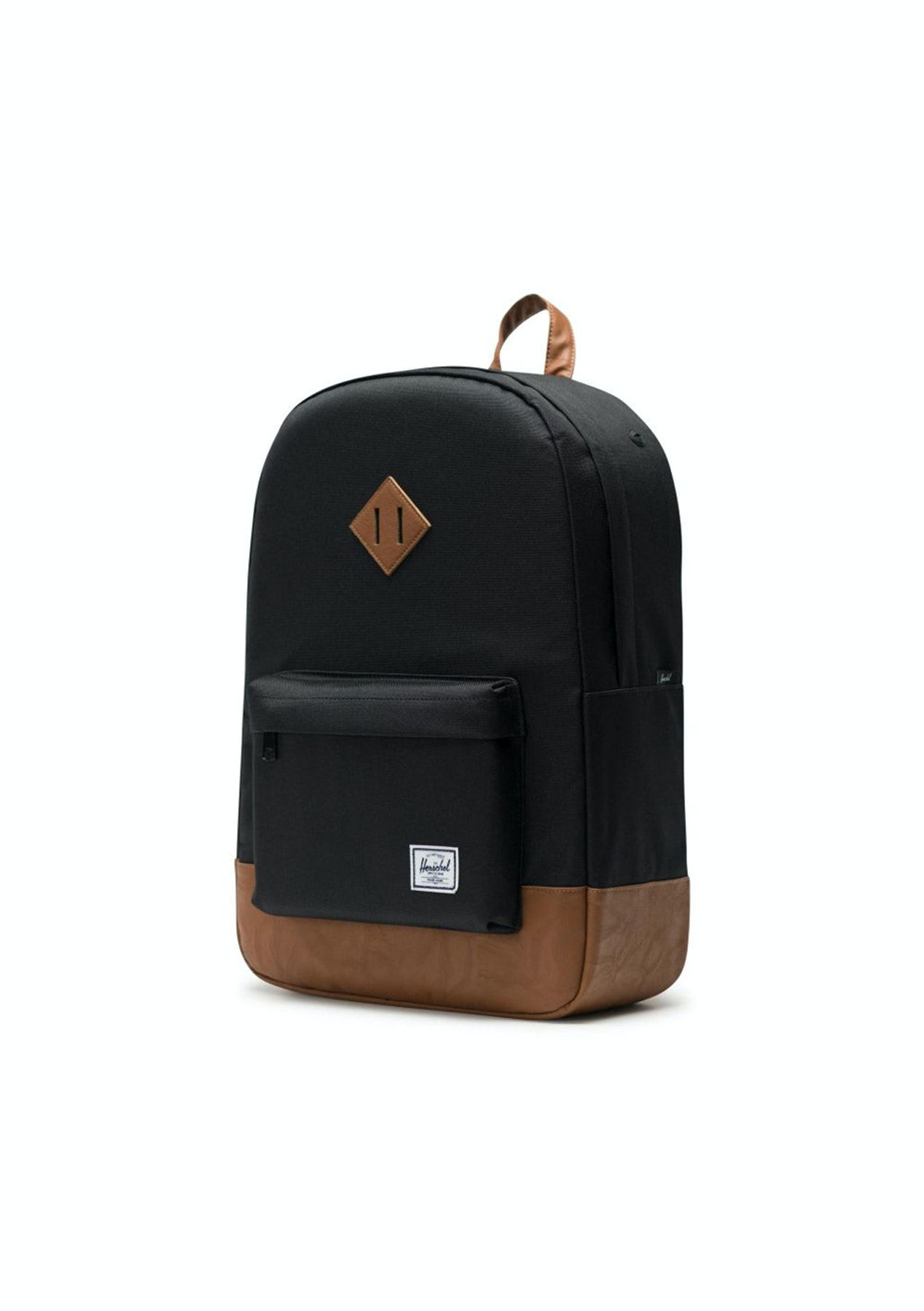 c28d77cb5c5 Herschel Supply Co - Heritage - Black Tan Synthetic Leather - Herschel  Supply Co. - Onceit