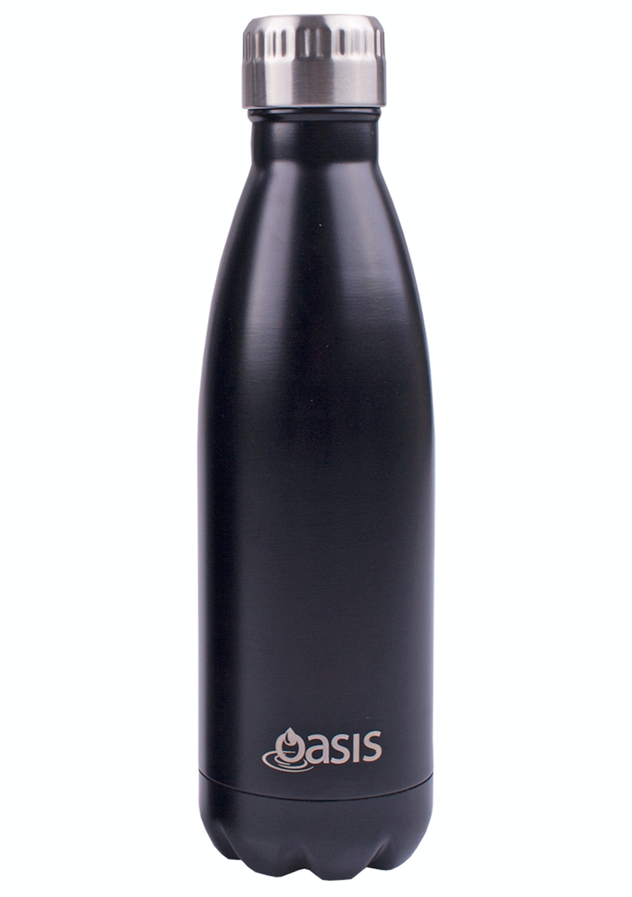 2d78650b3b8 Oasis - S S Insulated Drink Bottle 500Ml Matte Black - Back to School -  Lunch boxes