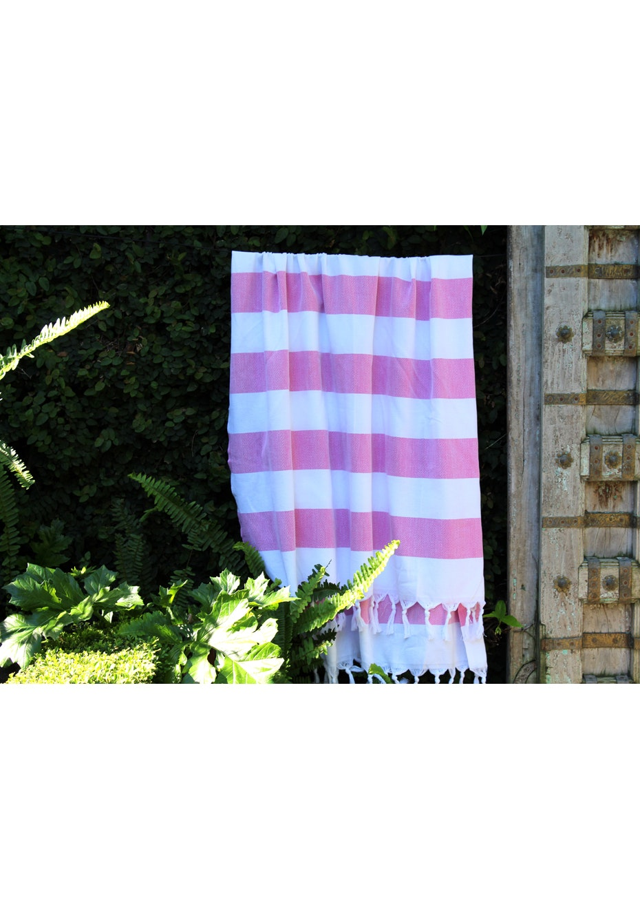 Cabana Hot Pink Turkish Towel