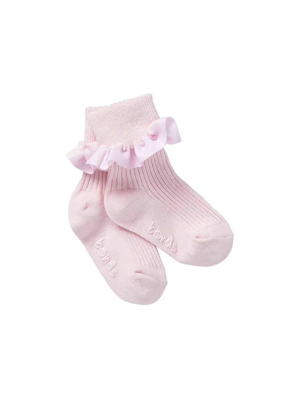 BONDS - Baby Party Cuff Sock - Sweet Pink