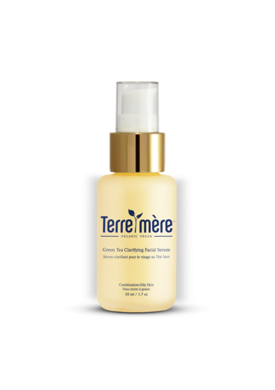 Terre Mere - Green Tea Clarifying Facial Serum - Combination-Oily Skin