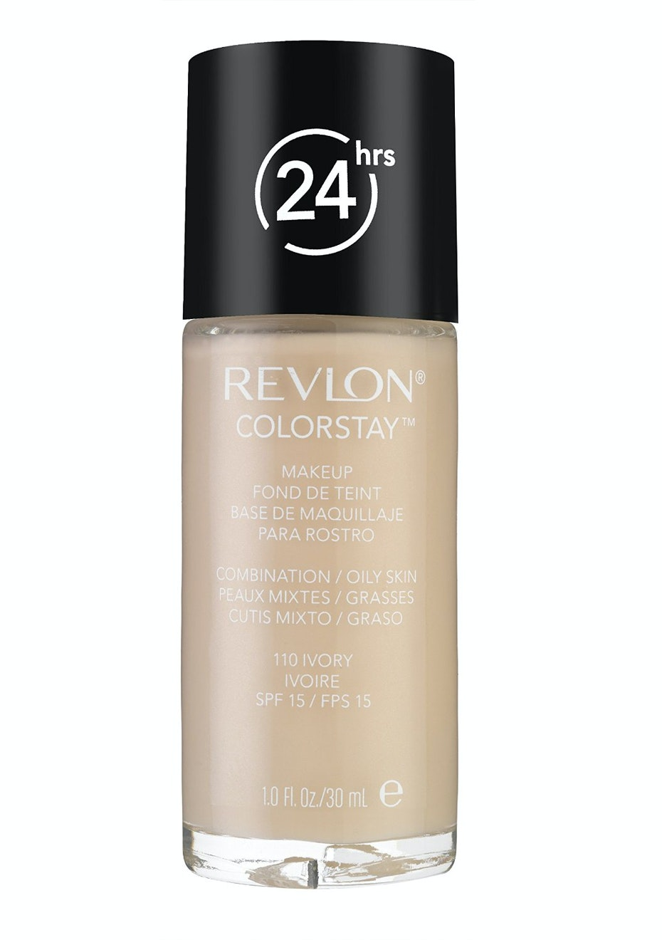 Revlon Colorstay 24hrs Liquid Makeup Combo/Oily 110 Ivory