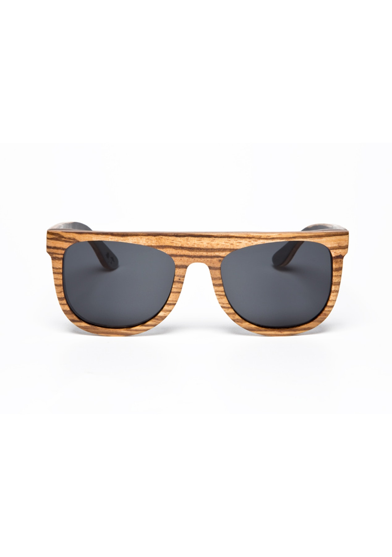 1068802b11f Under The Sun - The Boston - Zebra Beech Ebony Sunglasses - Gifts for Him -  Onceit
