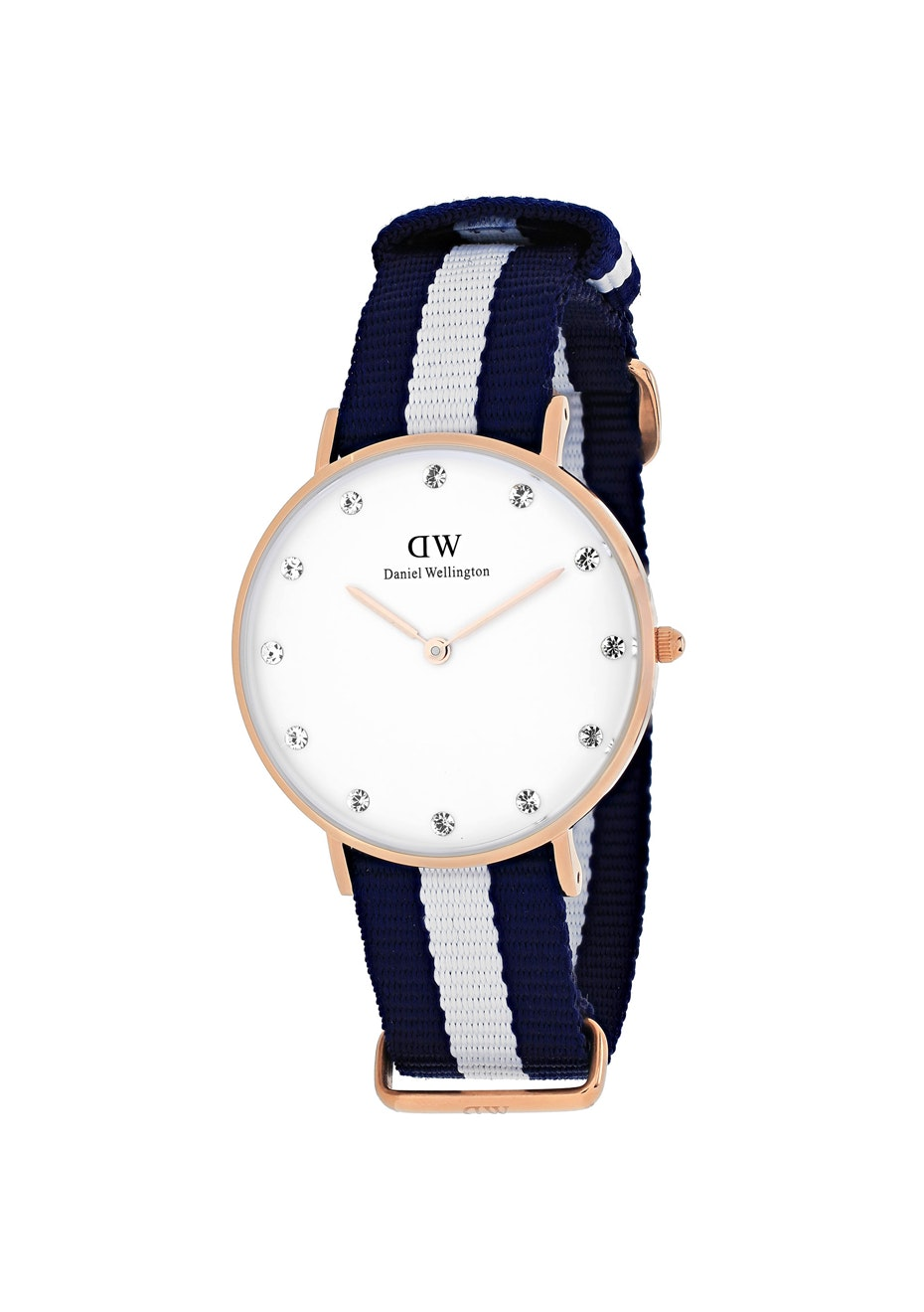 Daniel Wellington Women's Classy Glasgow - White/Two-tone Navy B