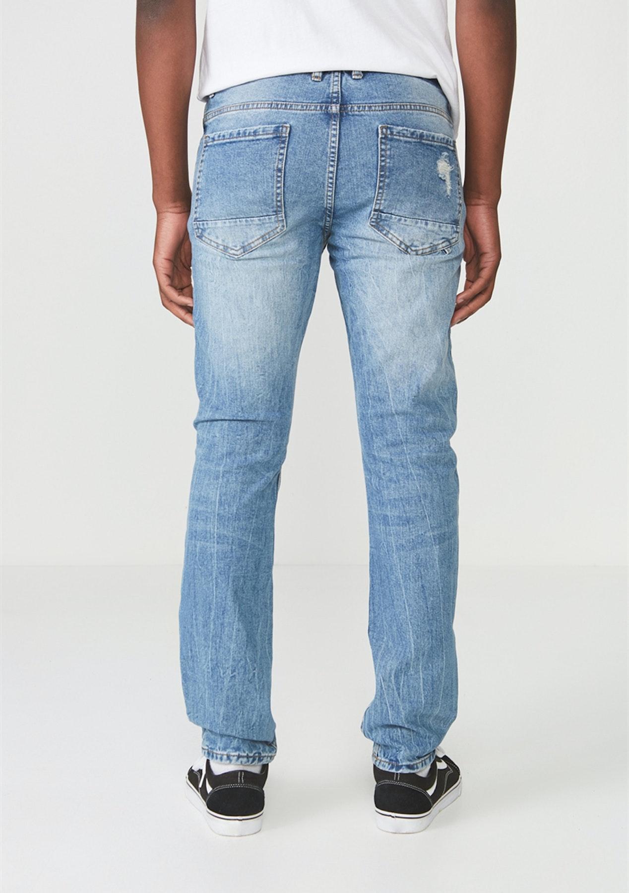 33231f41 Cotton On - Slim Fit Jean /Vintage Blue Patched - Mens Garage Sale - Onceit
