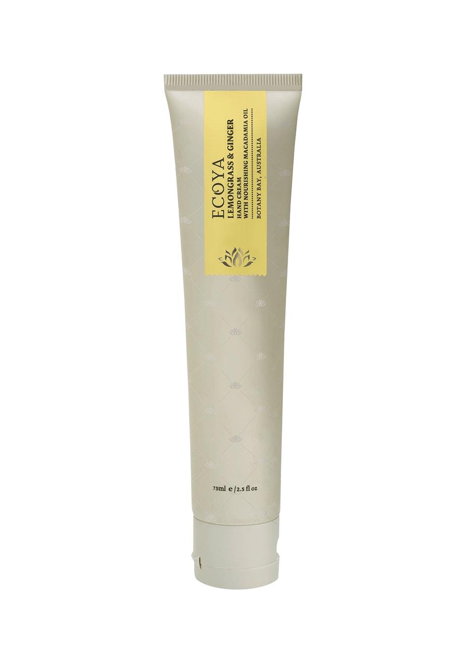 Ecoya - Hand Cream 75Ml - Lemongrass & Ginger