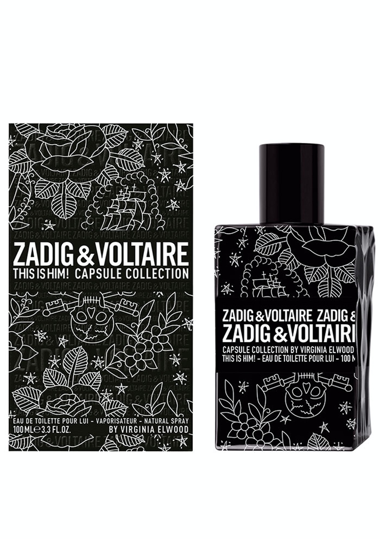 f84c008a0ad Zadig   Voltaire THIS IS HIM! CAPSULE COLLECTION Eau De Toilette 100ml - Up  to 50% Off Luxury Fragrance Brands - Onceit