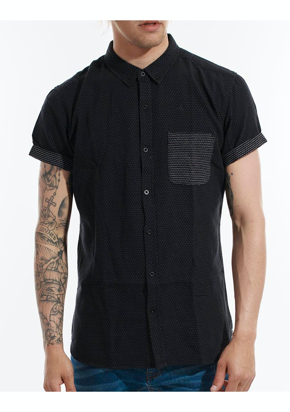 Deacon - Speculate SS Shirt - Black