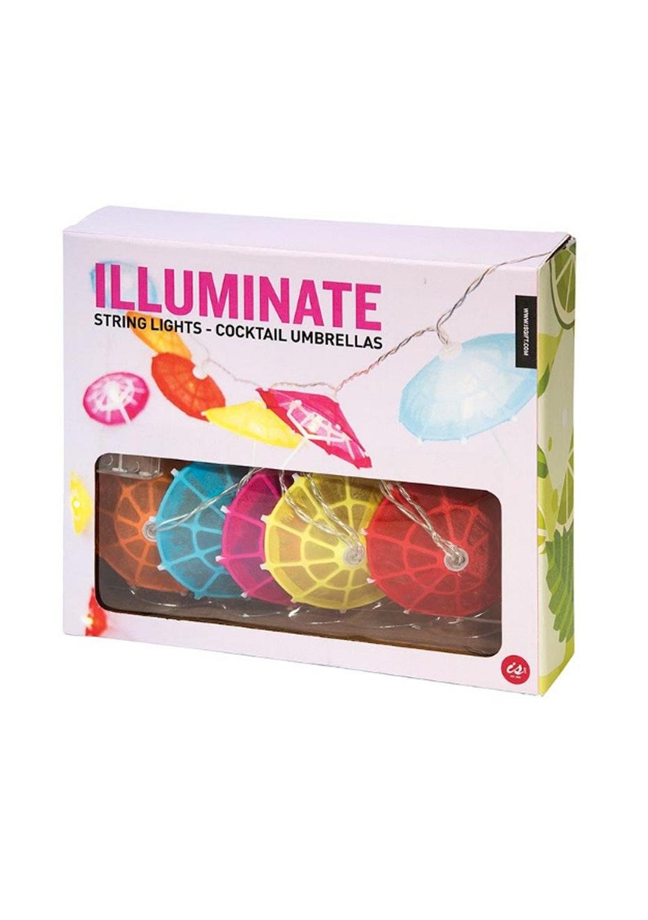 Illuminate String Lights - Cocktail Umbrellas